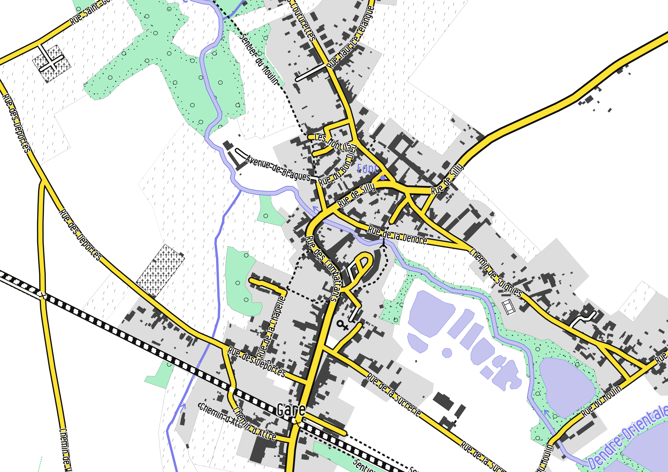 Optimisation Of Street Labelling With Mapnik